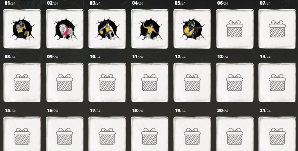 Kalendarze adwentowe - promocje na 5 grudnia!