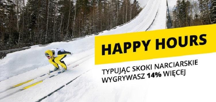 Happy Hours na Turniej Czterech Skoczni!