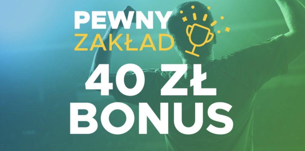 Betclic Pewny Zakład. Do zdobycia 40 PLN zwrotu!